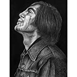 No Country Old Men Anton Chigurh Wayne Maguire Extra Large XL Wall Art Poster Print