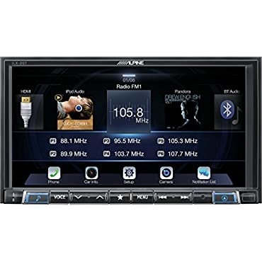 Alpine iLX-207 7 AV Receiver with Apple CarPlay and Android Audio