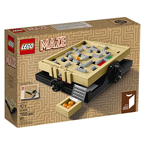 LEGO Ideas 21305 Maze Building Kit (769 Piece) (Lego Chess Set)
