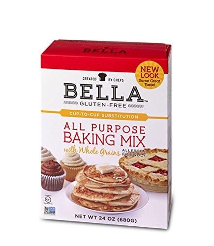 Bella GlutenFree All Purpose Baking Mix Premium Casein Free Healthy Flour 24 oz 1 Pack