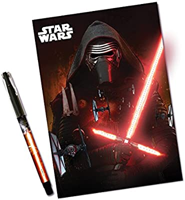 Star Wars - Agenda Individual holografica y Luminosa, Color ...