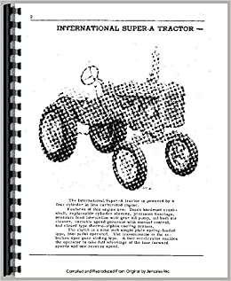ih farmall super a super av tractor operator owner user manual download