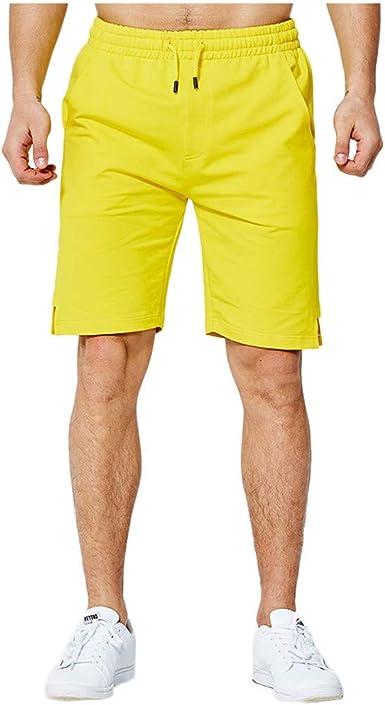 Pantalones Cortos Hombre, Verano Casual Moda Deporte Running ...