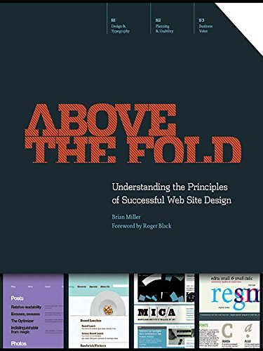 Pdf Reference Above the Fold: Understanding the Principles of Successful Web Site Design