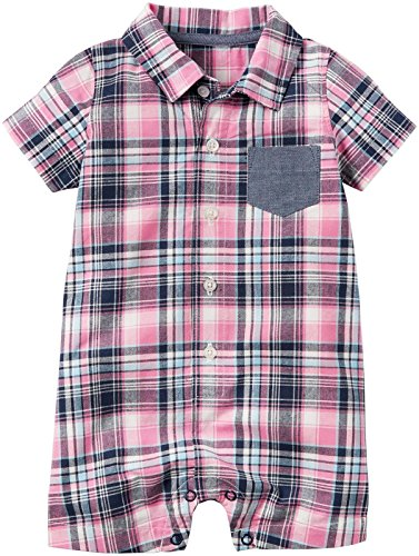 Carter's Baby Boys 1 Pc 118h013, Red, (Connection Shirt)
