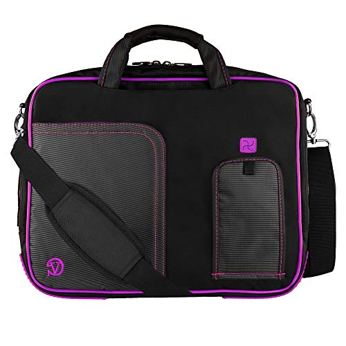 "11.6"" Laptop Shoulder Bag Business Briefcase Carrying Sleeve Case Laptop Messenger Bag for Men & Women Fits 11 Inch MacBook Air/Pro, iPad Notebook Chromebook Ultrabook Case Sleeve Bag"