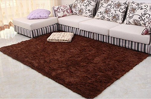 80*160 carpet sofa coffee table large floor mats doormat tapetes de sala doormat rugs and carpets alfombras area rug Color:Coffee