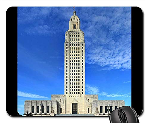 Estate Rouge - Mouse Pads - Baton Rouge Louisiana State Capitol Building