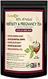 Red Raspberry Leaf tea for Fertility Pregnancy with Vitex chasteberry, Loose Leaf Blend - 60 grams | Made in USA