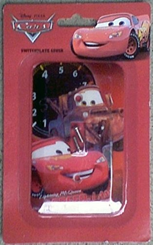 Amazoncom Disney Pixar Cars Lighting Mcqueen Switchplate Cover
