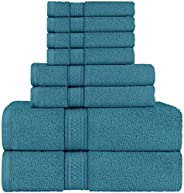 Utopia Towels - Towels Set, 2 Bath Towels, 2 Hand Towels and 4 Washcloths, 600 GSM Ring Spun Cotton Highly Abs