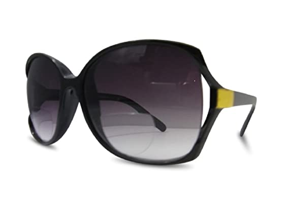 Uomo Donna Occhiali da sole Occhiali da Lettura Reader +0.50 +0.75 +1.0 +1.5 +2.0 Filter UV 400 MFAZ Morefaz Ltd (Red Black, +1.5 Sun)