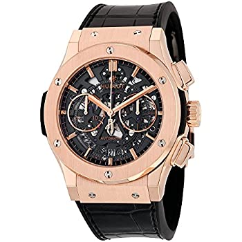 Hublot Classic Fusion Aero King Gold Mens Automatic Chronograph - 525.OX.0180.LR