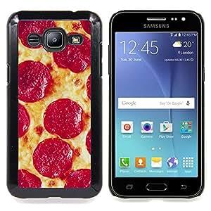 - Pizza Pepperoni Italian New York Food - - Monedero pared Design Premium cuero del tir???¡¯???€????€???????????