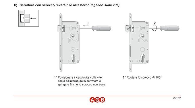 Cerradura AGB Patent grande Yale F50 Q8: Amazon.es: Bricolaje y herramientas