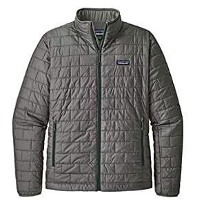 Amazon Com Patagonia Men S Nano Puff Jacket Cave Grey