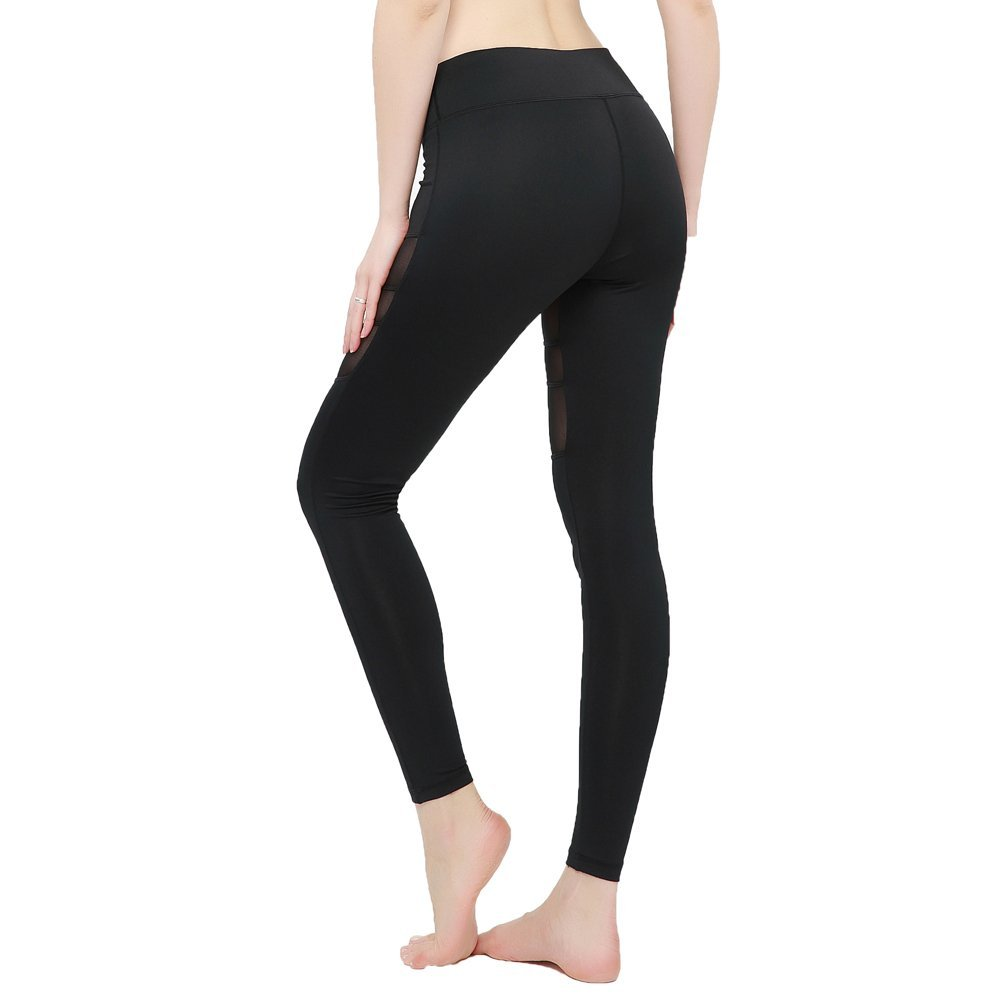 Amazon.com : FeelinGirl Women's Breathable Active Yoga Running Pants  Workout Spanx Tights Leggings : Sports & Outdoors