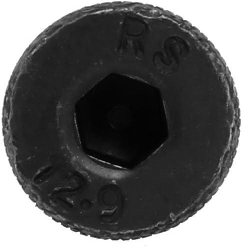 uxcell 2pcs Alloy Steel Hex Socket Drive M13x80mm Shoulder Screw M10x17mm Thread