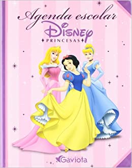 Agenda escolar Princesas Disney: 9788439208631: Amazon.com ...