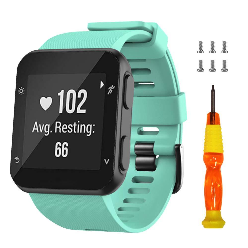Malla De Reloj Garmin Forerunner 35 (verde Menta) Silicona