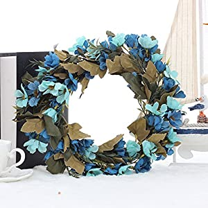 Front Door Wreath - Daisy Wreath-Spring Summer Greenery Wreath-Year Round Floral Wreath-Faux Wreath-Wedding Décor 7