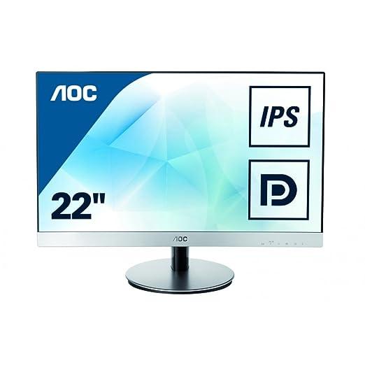 """82 opinioni per AOC I2269VWM LCD Monitor 21.5 """", Colore: Argento / Nero"""