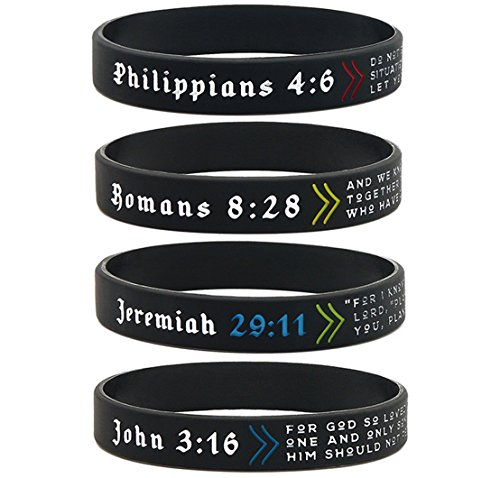 (12 pack) Popular Bible Verses Bracelet Mix Wholesale Christian Jewelry Products in Bulk Lot