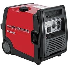Honda Power Equipment EU3000IH1A Handi 3,000W Portable Generator with Parallel Capability CARB, Steel