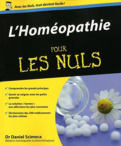 Télécharger) L'Homéopathie Pour les Nuls pdf de Daniel