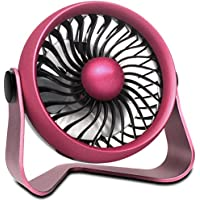 OPOLAR Battery Operated Aroma Fan to Blow Fragrant Wind, 2017 New Design - Personal Desk Fan with 4 Speeds - Enhanced Airflow and Quieter Operation - Powered by USB or 2200mAh Rechargeable Battery