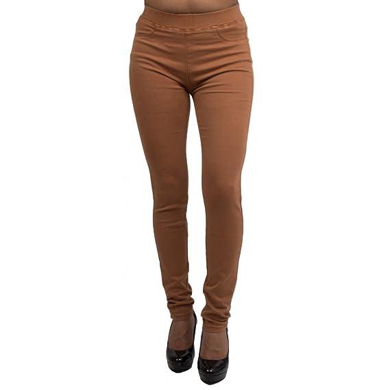 6a363b3016 Jegging Camel Taille Haute Forme Jean Slim Ultra Stretch Femme-: Amazon.fr:  Vêtements et accessoires