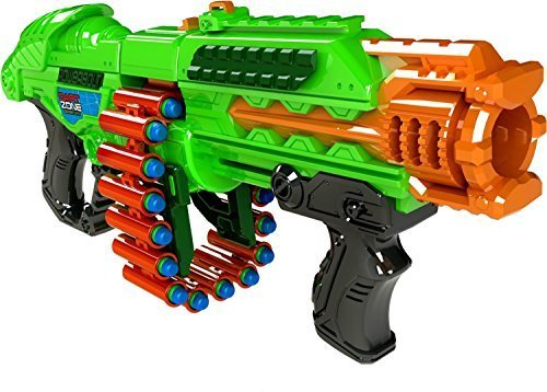 Prime Time Toys Dart Zone Powerbolt Pump Action Belt Blaster