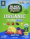 Black Forest Organic Fruity Bites Mixed Fruit Snacks, Assorted Flavors, 0.8 Ounce Bag, 8 Pack (64 count)