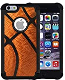 CorpCase iPhone 6 Plus Case / iPhone 6S Plus 5.5 Inch Case - Basketball / Hybrid Unique Case With Great Protection