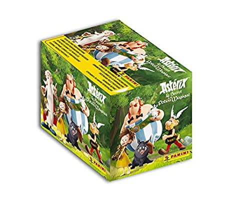 Amazon com: Panini-50 Pack of 5 Stickers, Asterix - The Secret of