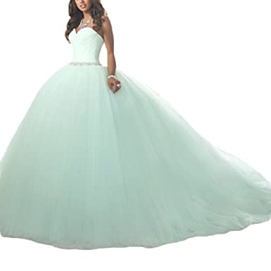 2fc925084e Gotidy Ever Pretty Mint Green Sweet 16 Quinceanera Dresses GO340 at Amazon  Women s Clothing store