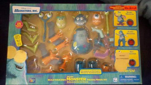 Disney Pixar Monster Inc.-- Deluxe Build Your Own Monster Talking Model Kit