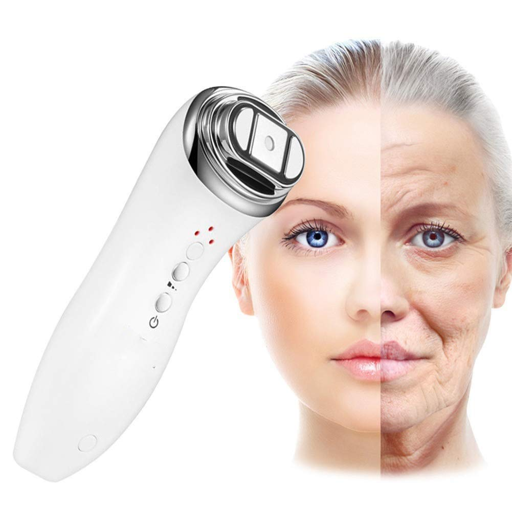 Hifu Facial Massager,High Frequency Wrinkle Remove Skin Care Machine for Eye Facial Lifting and Tightening,Facial Rejuvenation Antiaging Wrinkle Beauty Machine,Spa Skin Care Beauty Device by Jeann