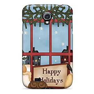 Galaxy S4 Case Cover With Shock Absorbent Protective ZSACE7115bvCAi Case