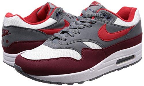 100 Nike Scarpe Running Air Uomo 1 Red Max white Multicolore university fxq4wfHCnv