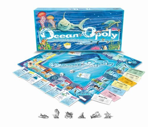 OCEAN-OPOLY: There's Something Fishy About This Game! by HORSELOVERZ
