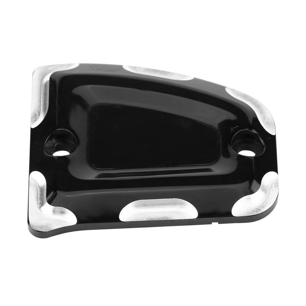 Vobor Motorcycle Cylinder Cover Motorcycle Front/&Rear Billet Master Cylinder Covers for Indian Scout 2015-2018