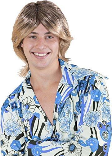 Kangaroo Halloween Accessories - Ladies Man Wig, Blonde