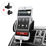 Image of BUDGET & GOOD Universal Smartphones Car Air Vent Mount Holder Cradle, Black