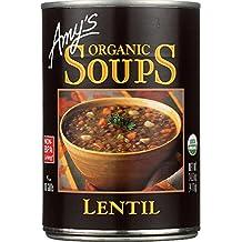 Amy's Organic Soups, Lentil, 14.5 Ounce