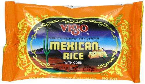 Vigo Mexican Rice, 8-Ounce Pouches (Pack of (Mexican Rice)