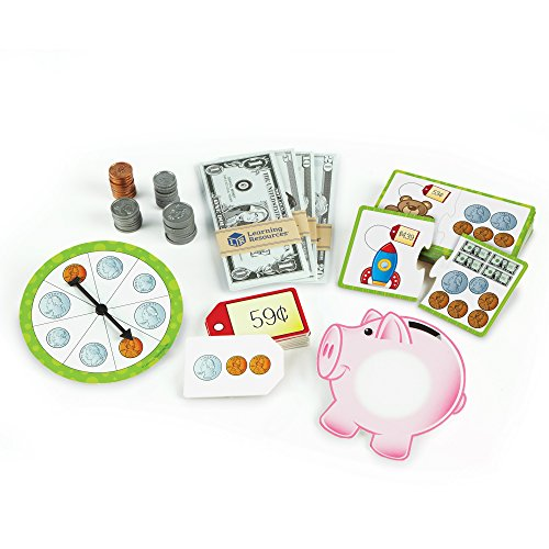 Coin Counting Game - Learning Resources  Money Activity Set, 102 Pieces