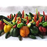 Portal Cool Bulk * 500 Seed*Holy Moley Pepper Mix *Strawberry Sweet to 5 Alarm Heat Range