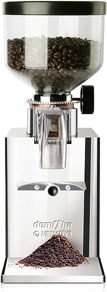 Espressomühlen für Siebträger Espressomaschinen:  Demoka GR-0203 Kaffeemühle für Siebträger