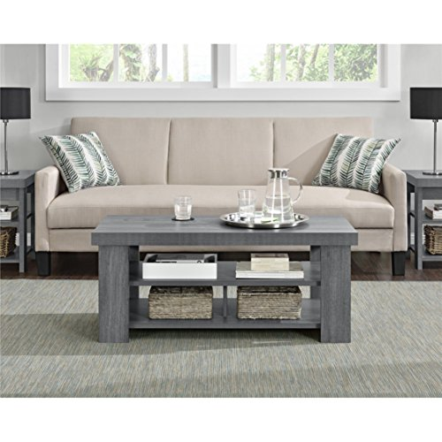 8326cf0244018 Sturdy Sleek Look Design Grey Oak Coffee Table - Buy Online in KSA. Kitchen  products in Saudi Arabia. See Prices